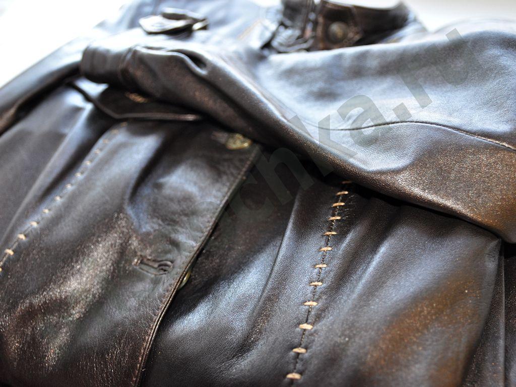 Удалить пятна на кожаной куртке фото