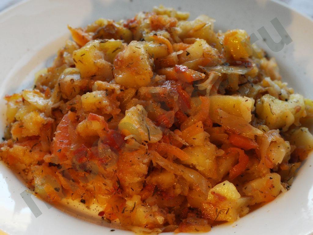 Рагу с картошки с фото