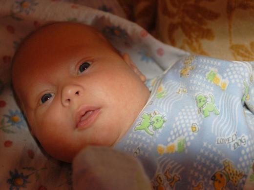 ребёнок в два месяца