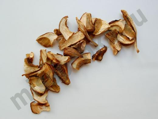 белые сушёные грибы