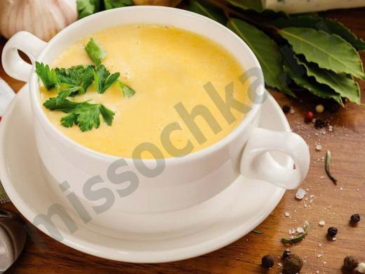 крем суп в пиале