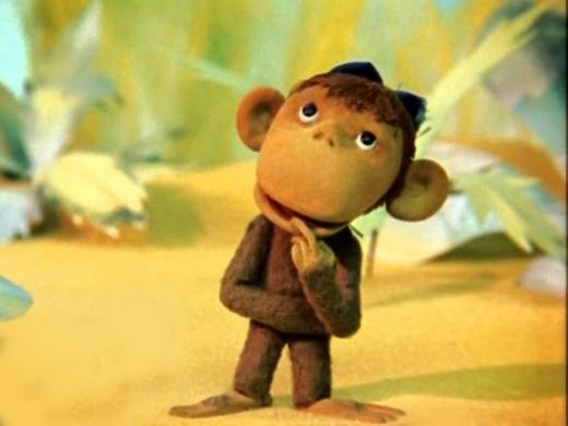обезьянка из мультика