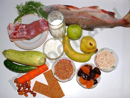 Полезные продукты питания для беременной женщины