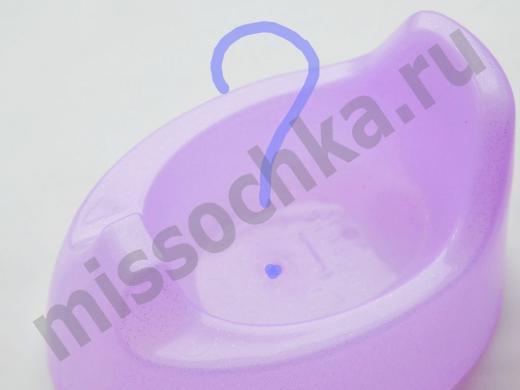 детский пластмассовый горшок